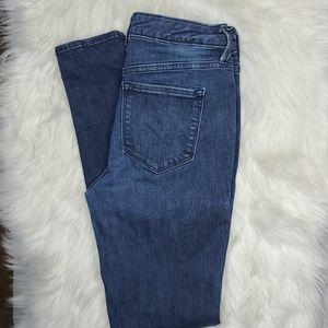 Old Navy Rockstar mid rise jeans 6 regular blue